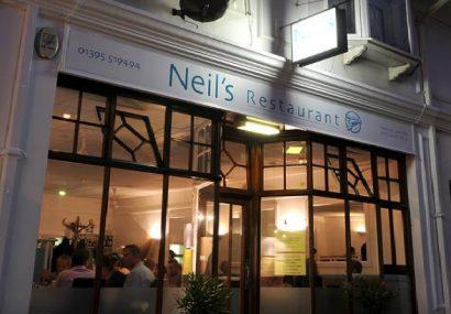 Neils Restaurant Sidmouth Devon