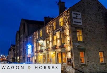 Wagon & Horses