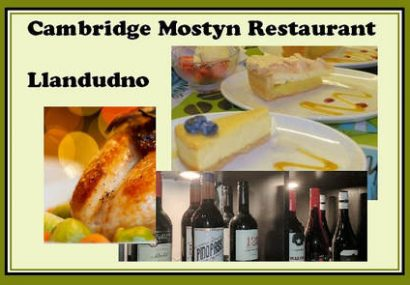 Cambridge Mostyn Restaurant